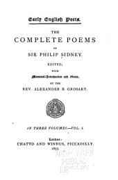 The Complete Poems of Sir Philip Sidney: Volume 1