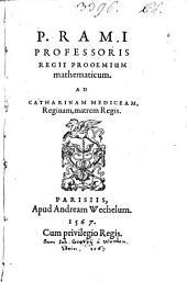 Prooemium Mathematicum