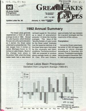 Great Lakes Levels PDF
