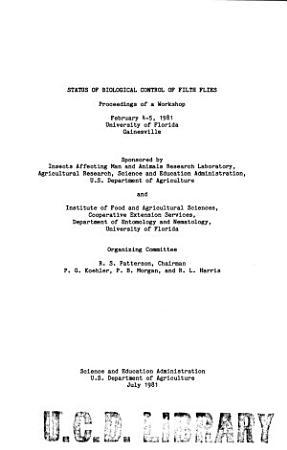 Status of Biological Control of Filth Flies PDF
