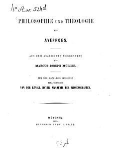Philosophie und Theologie PDF