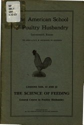 General Course In Poultry Husbandry Book PDF