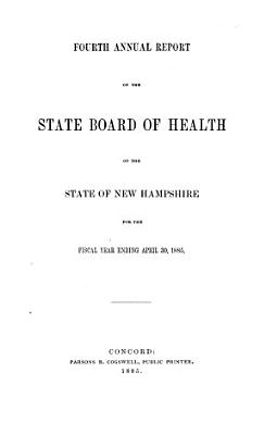 Annual Report of the State Board of Health of the State of New Hampshire for the Fiscal Year Ending    PDF