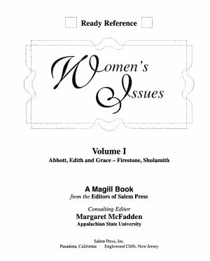 Women s Issues  A Fir PDF