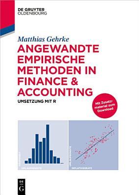 Angewandte empirische Methoden in Finance   Accounting PDF