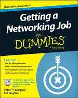 Getting a Networking Job For Dummies PDF