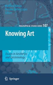 Knowing Art PDF