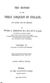The History of the Norman Conquest of England, Its Causes and Its Results