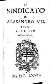 Il sindicato di Alesandro VII. con il suo viaggio nell'altro mondo