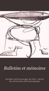 Bulletins et mémoires