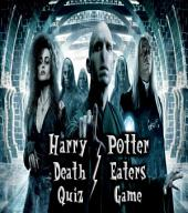 Harry Potter Quiz Game (Death Eaters Series)
