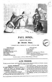 Paul Jones drame en cinq actes par Alexandre Dumas