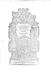 Delle Famiglie Nobili Napoletane: Volume 1
