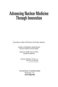 Advancing Nuclear Medicine Through Innovation