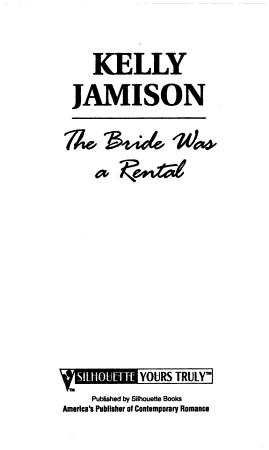 The Bride Was a Rental PDF