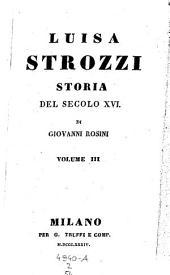 Luisa Strozzi, storia del secolo 16: Volume 2;Volume 54