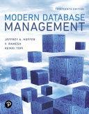 Modern Database Management PDF