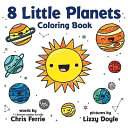 8 Little Planets Coloring Book