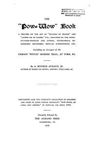 The  pow wow  Book PDF
