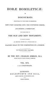 Horae Homileticae: 1 & 2 Corinthians