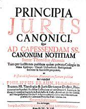 Principia juris canonici (etc.)