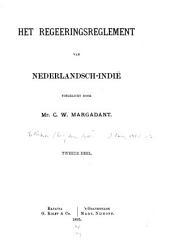 Het regeeringsreglement van Nederlandsch-Indië: Volume 2