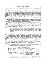The Lancashire Library: A Bibliographical Account of Books on Topography, Biography, History, Science, and Miscellaneous Literature Relating to the County Palatine, Including an Account of Lancashire Tracts, Pamphlets, and Sermons Printed Before the Year 1720. With Collations, & Bibliographical, Critical, & Biographical Notes on the Books and Authors, Volume 1