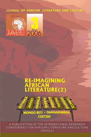 Journal of African Literature and Culture JALC ALJ PDF