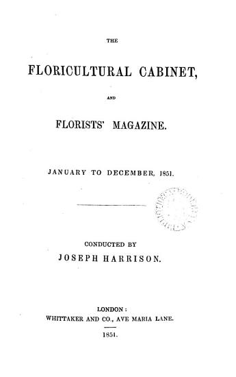 Floricultural Cabinet and Florists  Magazine      PDF