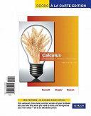 Calculus for Business  Economics  Life Sciences and Social Sciences  Books a la Carte Edition
