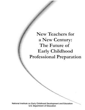 New Teachers for a New Century PDF