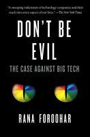 Don t Be Evil PDF