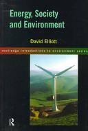 Energy  Society  and Environment PDF