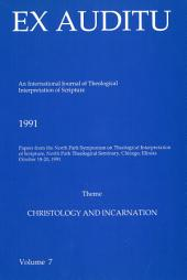 Ex Auditu - Volume 07: An International Journal for the Theological Interpretation of Scripture