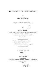 Trelawney of Trelawne, or The prophecy