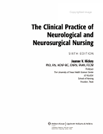 The Clinical Practice of Neurological and Neurosurgical Nursing PDF