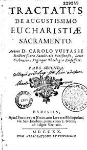 Tractatus de Augustissimo eucharistiae sacramento