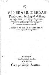 In sanctum secundum Johannem evangelium expositio