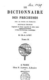 Le dictionnaire des précieuses: Volume2