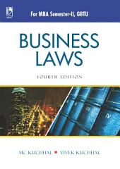 Business Laws (For GBTU), 4th Edition