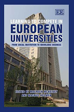 Learning to Compete in European Universities PDF