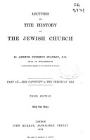 Lectures on the History of the Jewish Church PDF