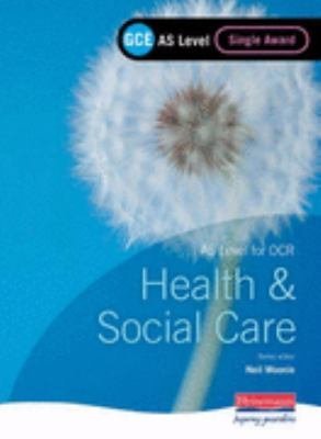 GCE AS Level Health and Social Care Single Award Book  For OCR  PDF
