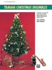 Yamaha Christmas Ensembles (Alto Saxophone / Baritone Saxophone): Christmas Sheet Music