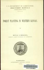 Forest planting in western Kansas