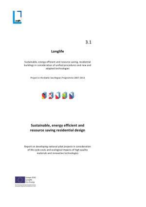 Longlife 3 1  Sustainable Design PDF