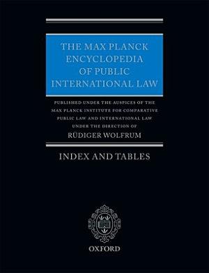 The Max Planck Encyclopedia of Public International Law PDF