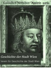 Geschichte der Stadt Wien: Band 2,Ausgabe 2