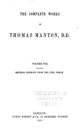 The Complete Works of Thomas Manton, D.D.: With Memoir of the Author, Volume 8