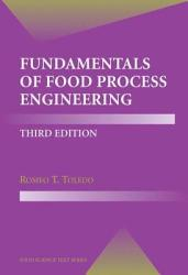 Fundamentals Of Food Process Engineering Book PDF
